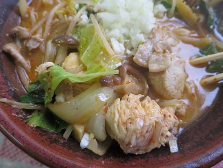 まんまや食堂 越後の麺太郎 具材の様子