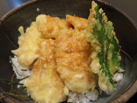 粋菜庵しなの トリ天丼(全国ご当地どんぶりまつり限定) アップ