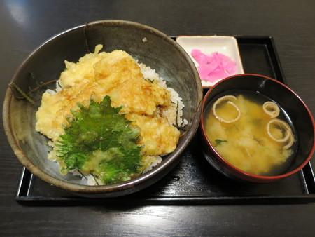 粋菜庵しなの トリ天丼(全国ご当地どんぶりまつり限定)¥720