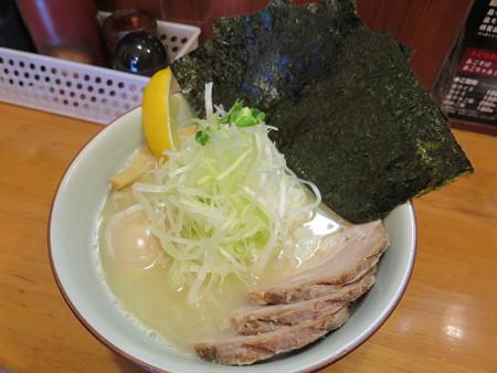 麺屋蕪村 特製塩そば¥1080