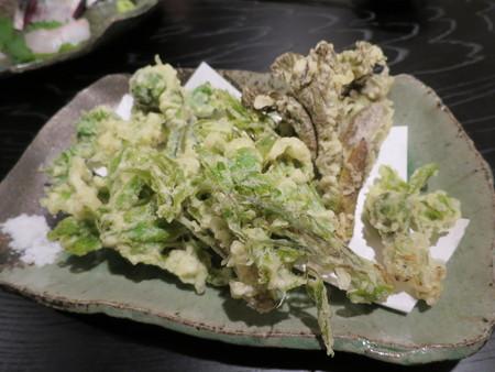 季楽 山菜の天ぷら