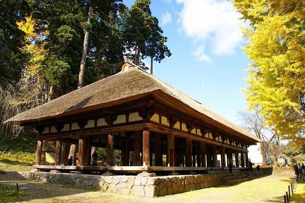 新宮熊野神社の長床