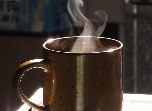 朝のコーヒー
