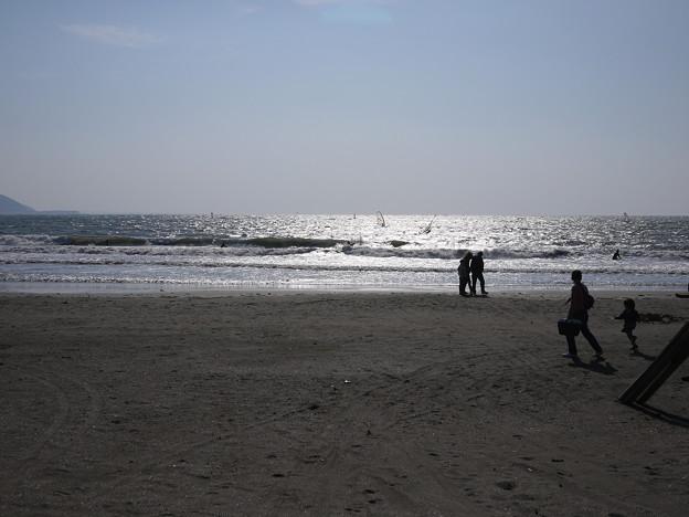 写真: 2010年11月 鎌倉の海