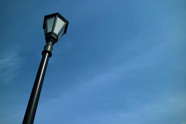 午後の街路灯