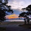 千葉港に陽は落ちて1