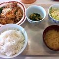 写真: 札幌市建設局下水道庁舎食堂 日替わり