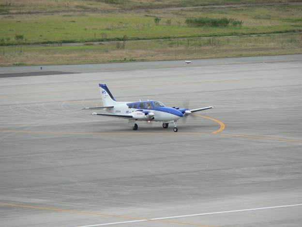 神戸空港 プロペラ飛行機