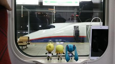 ミク:「長野駅に停車です!」 リン:「さぁーここから新線区画だゅ...