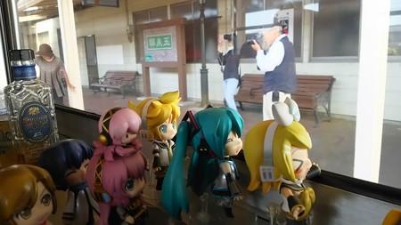 五泉駅に停車。