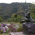 佐々木小次郎(厳流)と岩国城