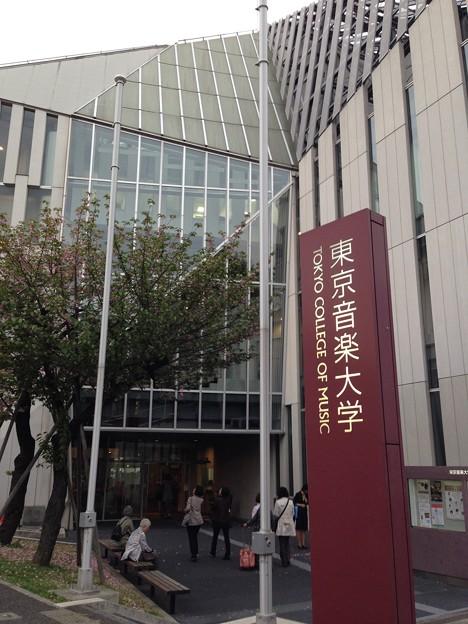 東京音楽大学のホールでコンサート