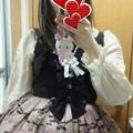 Photos: こっちはカーディガンなしの方ヽ(・∀・)ノ 後ろシャーリングでかぶりタイプだから、楽に着れるのもポイント高いね(*´∀`)
