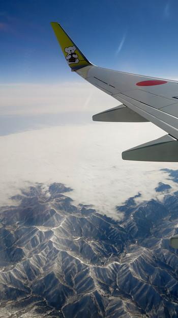 3月の北の山々