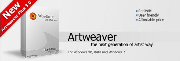 简易CG绘图软件(ARTWEAVER)3.1.5