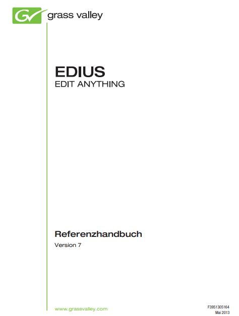 EDIUS 7参考手册