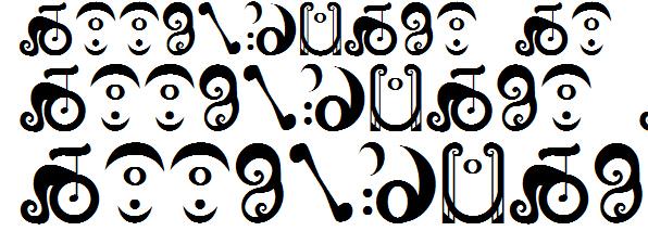 魔法少女小圆魔女字体