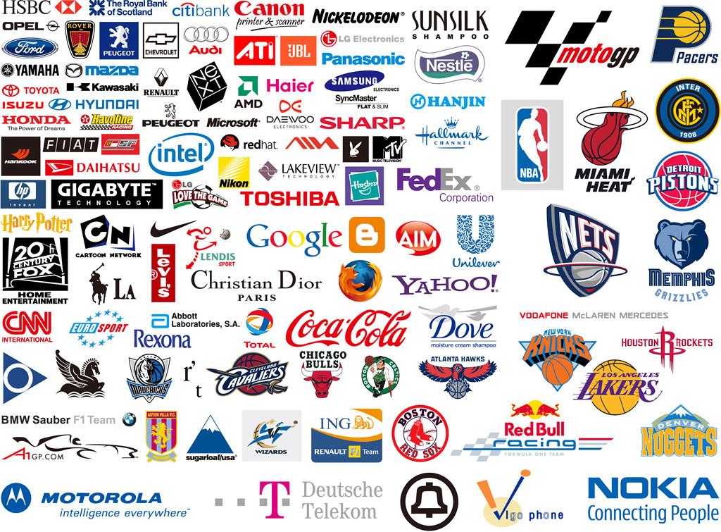 世界知名企业品牌logo矢量素材+CCTV logo矢量素材