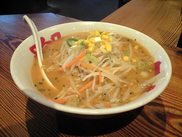 016-2「拉麺屋神楽 米子店」札幌味噌ラーメン