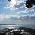 雲と太陽と海