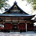 三峯神社の横側風景
