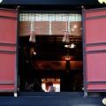 三峯神社の扉