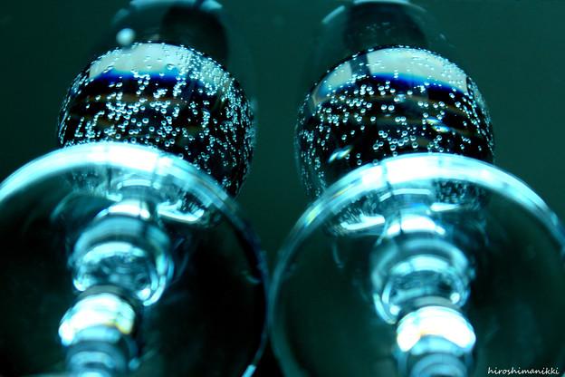 第96回モノコン 夜のグラス