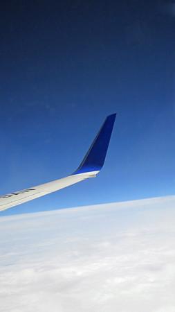 雲の上は、どこまでも青い空 IMG_0422_2