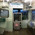 写真: 弥彦線の115系運転台