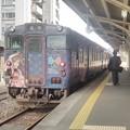 写真: 城端線にて