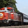 Photos: 9942レ DE10 1685+旧型客車 2両+DE10 1129
