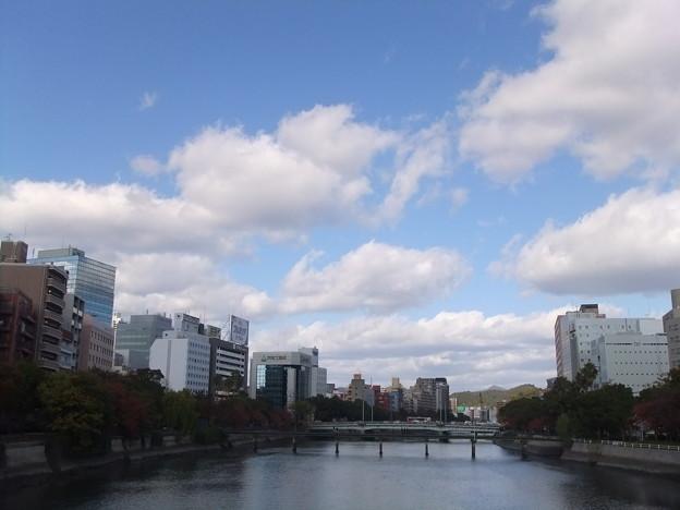 東広島橋から柳橋を臨む