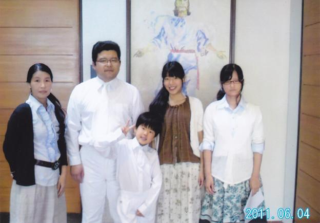 娘恵理の家族