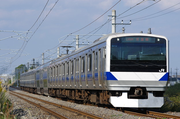常磐線 E531系 K412 1388M