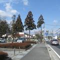 大凧通りで市立建部幼稚園辺りを見る。(2015年)