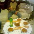 男所帯の晩ご飯1