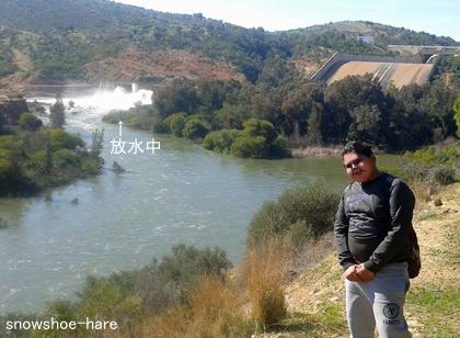 テストゥールのダム