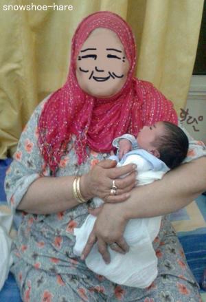 おばあちゃん&孫
