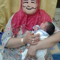 写真: おばあちゃん&孫