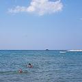 写真: 海水浴