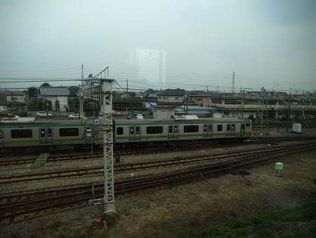 E231系グリーン車車窓6