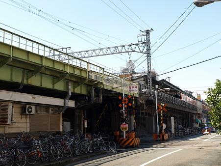 新今宮駅と阪堺線