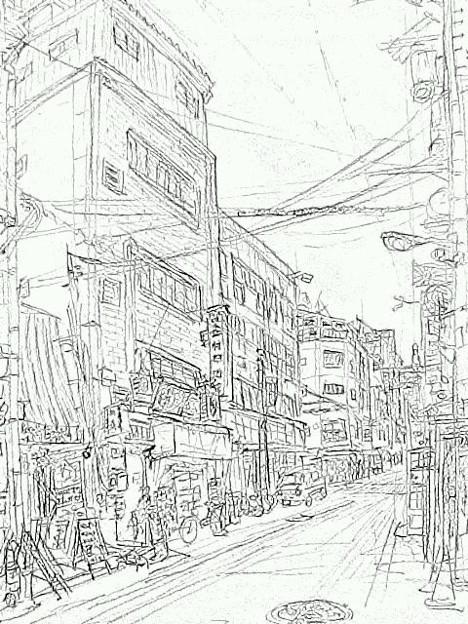 写真: 西心斎橋 #sketch365