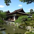 Photos: 銀閣寺東求堂と庭園 Togu-do & Pond,Ginkaku-ji      *浮雲の浮きたる思いあらざれば取りにし御手は須臾も離さじ