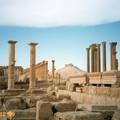 Photos: 列柱と山上の城 パルミラ Palmyra's colonnade & Casle、Syria