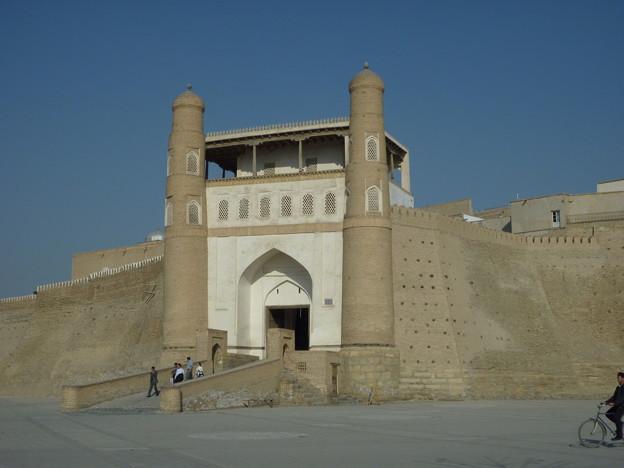シルクロード アルク城 Entrance to the Ark fortress