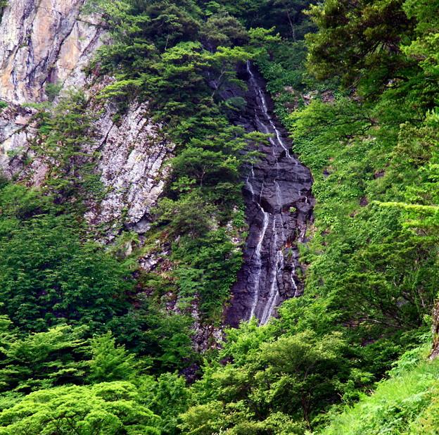 船上山の雄滝 ♪