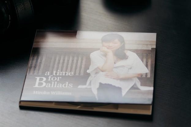 2015.03.15 机 a time for Ballads  ウイリアムス浩子