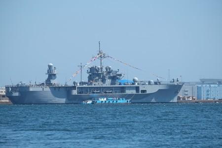 2015.03.31 横浜赤レンガ倉庫~横浜 USS Blue Ridge, LCC-19