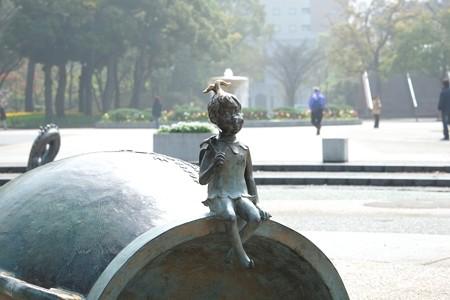 2015.04.06 横浜公園 水の広場 天使
